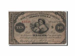 [#44576] Billet, États-Unis, 10 Cents, 1862, B+