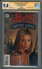 Buffy The Vampire Slayer #1 CGC SS Signed 9.8 Sarah Michelle Gellar Photo 004