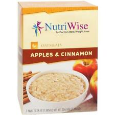NUTRIWISE | Apples & Cinnamon Diet Oatmeal | High Protein, Sugar Free, Low Fat