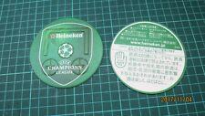 Japan Heineken Beer UEFA Football Soccer  Mats coasters posavaso  rare
