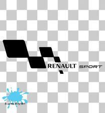 2x Renault Sport Clio Rs Laguna Megane Twingo euro Dub Jdm Logo Sticker Decal