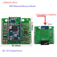 12V CSR8645 APT-X Hifi Bluetooth 4.0 Receiver Board for car Amplifier Speaker