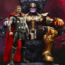 "1/6 Thanos Diorama 15""x15"" - For Avengers Thor Iron Man Stan MMS529 Hot Toys"