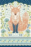 Ulster Weavers tea towel Woodland Fox, cotton