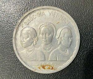 Vietnam South 50 Xu 1953 Aluminum Coin KM # 3