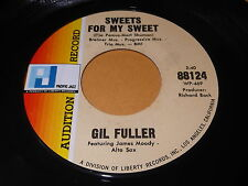 Gil Fuller: Sweets For My Sweet / A Patch Of Blue 45