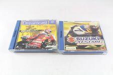 Sega Dreamcast Ducati World & Suzuki Alstare Extreme (Scratches) Game Pal