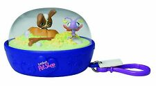 Littlest Pet Shop Take Along Clip on Keychain Bunny & Bug New
