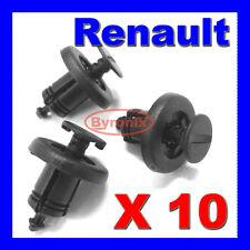 RENAULT CLIO LAGUNA TWINGO BUMPER TRIM FASTENER CLIPS 7703072360