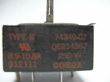 "#74349-02  8"" Surface Switch -Robt.#5521-362- #QE214362 - 8.9-10.8A 250V used"