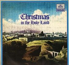 2547 059 CHRISTMAS IN THE HOLY LAND various choirs/soloists archiv LP PS EX+/EX
