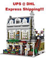 Fast Shipping BEST Custom Creator Parisian Lego Compitible 10243 + Manual Book
