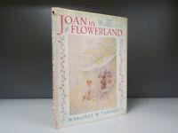 Joan In Flowerland Margaret W Tarrant c1940s ID852