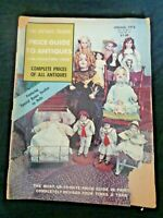 Antique Trader Price Guide To Antiques Magazine 1974 Dolls Kestner Bisque China
