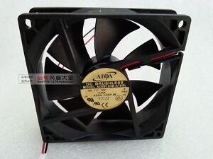 New ADDA AD0912HB-A76GL Chassis cooling fan DC12V 0.25A 2-Pin