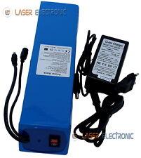 Batteria Tampone Ricaricabile a Litio 12V Volt 35.0AH Lunga Durata + Charger 3AH