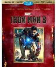 Iron Man 3 (3D/Blu-ray/DVD, 3-Disc Set) (No Digital Copy) - Marvel Disney