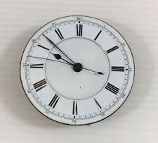 Antique H L Brown Sheffield Pocket Watch Movement 4.5cm In Diameter