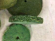 "6"" --150mm Sisal Polishing Buffing Mop 1/2"" Thick Hard Green Treated Heritage"