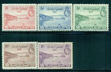 PAPUA C5-9 SG158-62 MH 1938 KGVI Airmail set of 5 Cat$32