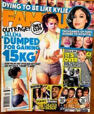 FAMOUS Magazine. May 4 2015. SELENA GOMEZ One Direction ARIANA GRANDE Rihanna