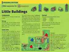 Carcassonne Little Buildings Häuser Houses NEW sealed game expansion Spielbox