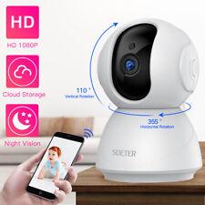SDETER  720P IP Camera Security Camera WiFi Wireless CCTV Camera Surveillance IR