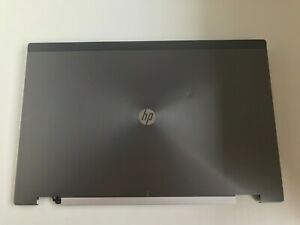 HP EliteBook 8760w LCD Lid 652524.001. Top Rear Screen Cover Used  (502a/4)