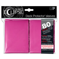 80 Ultra Pro Matte ECLIPSE Deck Protector MTG Card Sleeves Pokemon Force of WIll