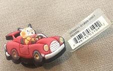 JIBBITZ CROC SHOE CHARM HUCKLE DRIVING RED CAR '12 Sku120496P