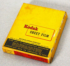 OUTDATED 4X5 KODAK CONTRAST PROCESS ORTHO SAFETY FILM