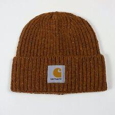 Carhartt WIP Anglistic Beanie Hat - Brandy Heather