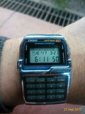Casio data bank 80 telememo&shedule modulo 1486 DBC-800 vintage working