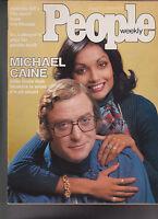 People Magazine Michael Caine Belinda Ali March 1 1976 Free S/H