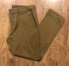 Old navy dark khaki 34 30 skinny
