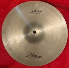 "12"" A ZILDJIAN SPLASHES"