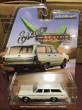 Greenlight Estate Wagons series 1969 Plymouth Satellite Wagon