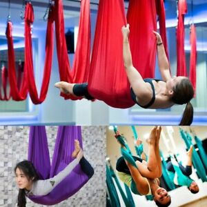 Elastic Large Yoga Swing Sling Hammock Trapeze  Aerial Flying Inversion Tool