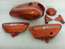 YAMAHA RD125 RD200 1974 FULL PAINTWORK DECAL KIT