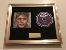 PERSONALLY SIGNED/AUTOGRAPHED NIALL HORAN - FLICKER FRAMED CD. ONE DIRECTION 1D