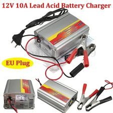 12V 50AH-105AH 10A Car Battery Charger Battery Charger Lead Acid Charger EU Plug