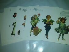 The Gretna Collection Reproduction Vintage Paper Doll Images 30 Pages 100 dolls