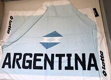 3441 LOTTO ARGENTINA TELO SPUGNA MARE BEACH TOWEL ASCIUGAMANO PISCINA 140x70