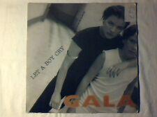"""GALA Let a boy cry 12"""" ITALO ZONE MOLELLA PHIL JAY"""
