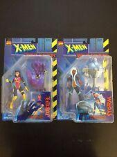 Vintage 1997 Toy Biz Marvel Legends Comics X-men Robot Fighters Jubilee & Storm