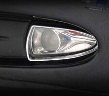 Jaguar S-Type Fog Light Chrome Trim Upgrade Set 1999 2000 2001 2002 2003 2004