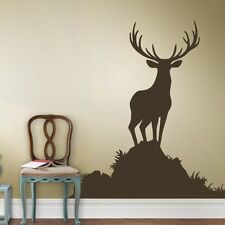 Deer Antler Wall Sticker Inspiration Hunting Vinyl Kids Bedroom Removable Decor