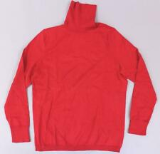 Talbots Women's Petite Perfect Turtleneck Sweater SD8 Classic Red Size PL NWT
