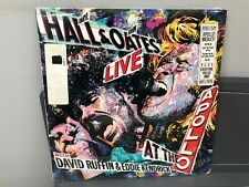 "HALL AND OATS-LIVE AT THE APOLLO 12"" LP RCA AFL1-7835 ROCK 1985 SEALED W/HYPE"