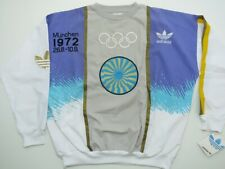 Vintage RARE Adidas Olympic Munchen 1972 Stockholm 1912 Size L Sweatshirt !
